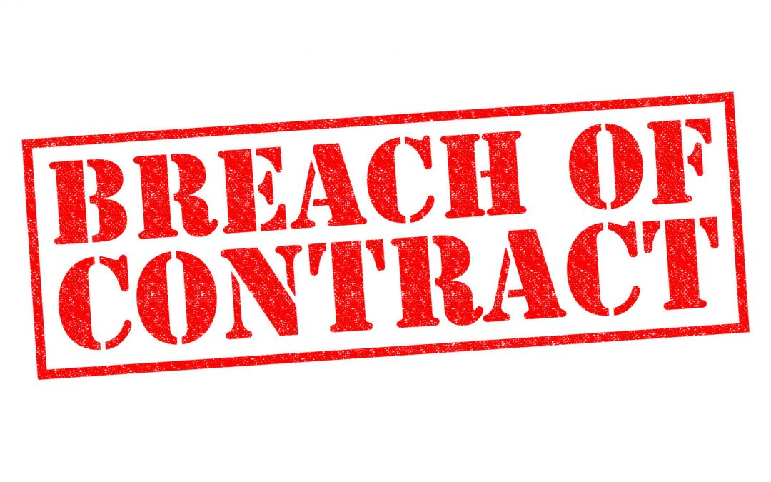 Breach Of Contract James A Zitesman