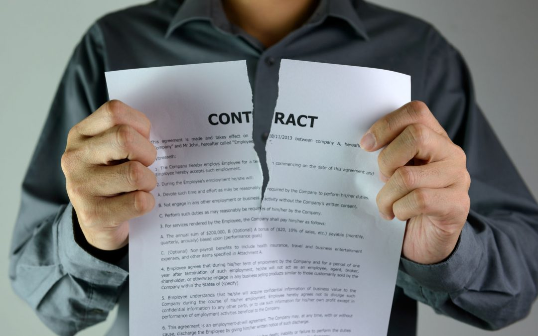 Effective Termination of a Purchase Contract